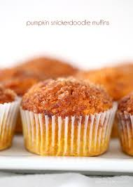 Cake Mix And Pumpkin Muffins by Pumpkin Snickerdoodle Muffins I Heart Nap Time