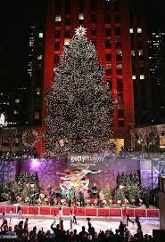 rockefeller center tree lighting ceremony photos and