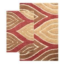 Red Bathroom Mat Set by Amazon Com Chesapeake Merchandising Davenport 2 Piece Bath Rug