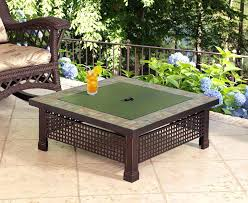 Propane Patio Fire Pit Outdoor Coffee Table