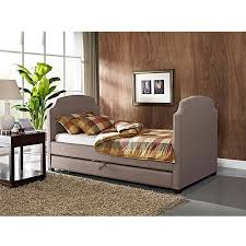 maison twin upholstered daybed and trundle pebble stone walmart com