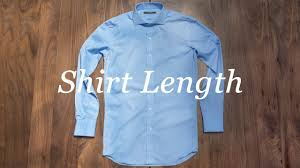 how to measure your shirt shirt length youtube