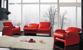 Cheap Red Living Room Furniture