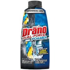 drano dual force foamer 17 ounces commercial line walmart com