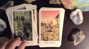 Mythic Tarot Deck Book Set by Cosmic Tarot Deck Review Youtube