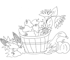 Fall black and white autumn borders black and white clipart