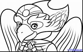 Impressive Lego Legends Of Chima Coloring Pages With And