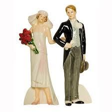1920s Vintage Wedding Cake Topper