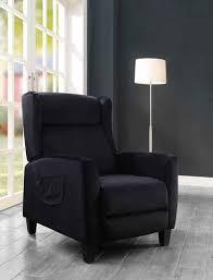 atlantic home collection tv sessel timo klassischer ohrensessel mit moderner relaxfunktion und praktischer seitentasche