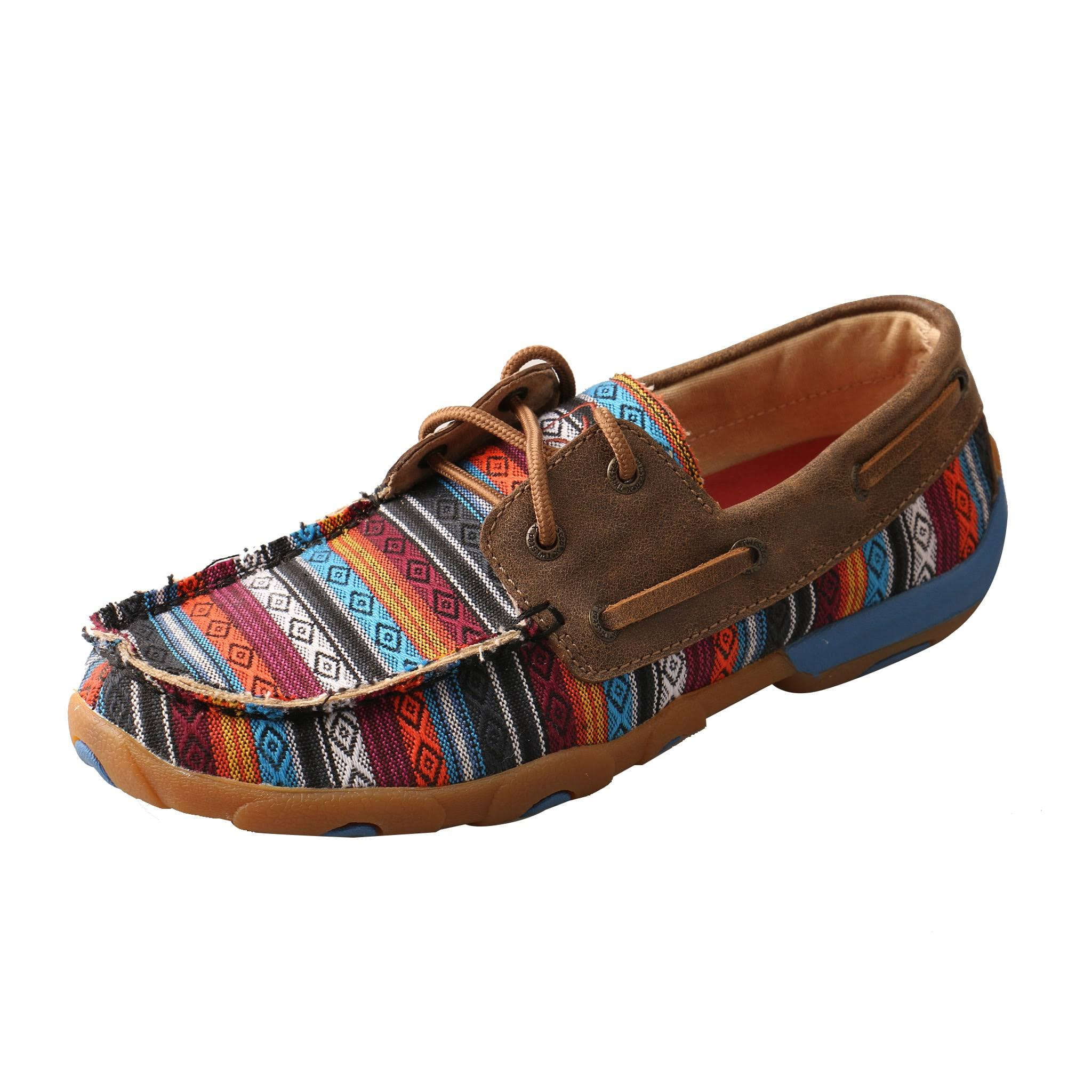 Twisted x Women's Serape Driving Moc WDM0076