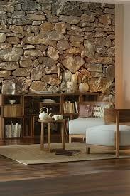 steinwand im wohnbereich mit rauoptik home steinwand