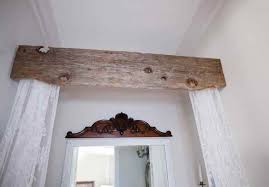 Reclaimed Wood Rustic Style Curtain Rod