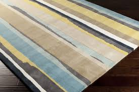 Awesome Yellow And Gray Area Rug