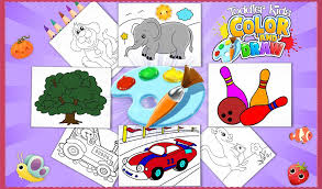 Toddler Kids Color And Draw Android Education App Source Code