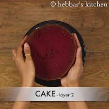velvet cake recipe easy moist eggless velvet cake