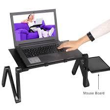 table ordinateur portable canapé multi fonctionnelle ergonomique mobile ordinateur portable table