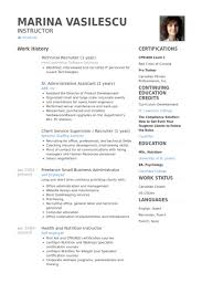 Technical Recruiter 1 Year Resume Example
