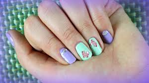 Nail Art Design For Spring/Summer For Short Nails With Stickers ... 14 Simple And Easy Diy Nail Art Designs Ideas For Short Nails Art For Very Short Nails How You Can Do It At Home Very Beginners Cute Polka Dots Beginners 4 And Quick Tape Designs Design At Home Fascating Manicures Shorter Best How To Do 2017 Tips White Color Freehand Youtube Top 60 Tutorials Emejing Gallery