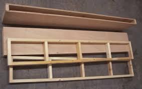 build free wooden floating shelves plans diy pdf ted mcgrath