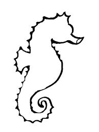Full Size Of Coloring Pageattractive Drawing Seahorse Tattoo Page Impressive
