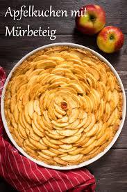 apfelkuchen mit mürbeteig 1000leckerbissen