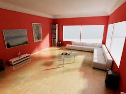 fabulous red living room wall along with white sectional sofa and