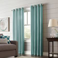 Thermal Curtain Liner Grommet by Shop Allen Roth Romanby 95 In Mineral Polyester Grommet Blackout