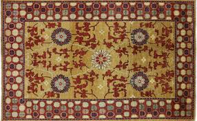 7 X 10 Modern Oriental Arts and Crafts Area Rug