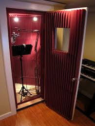 A Voice Over Studio Setup Singers Dont Sing In These Phone Booth Style Setups 99 Of The Time But Its Cozy And Private For Overs