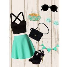 Party Dresses For Teenage Girls Ocodea A Fashion Look From August 2013 Featuring Mimi Blix Nelly Tops OPTIONS Mini Skirts