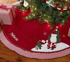 168 Best Tree Skirts Images On Pinterest Christmas Train Quilted Skirt Pottery Barn