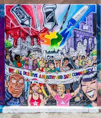 Clarion Alley Mural Project Address by We All Deserve A Health And Safe Community Street Art Sf