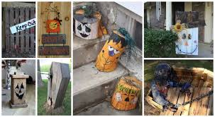 Diy Halloween Wood Tombstones by 15 Spooky Diy Wood Halloween Decorations For Your Outdoor Space