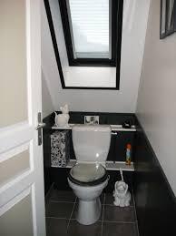 étourdissant deco toilette noir et chambre enfant wc idee deco