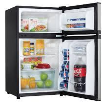 Aweinspiring Della Cu Ft Mini Refrigerator Fridge Freezer pact