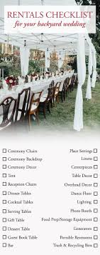 The Ultimate Guide To Planning A Backyard Wedding | Junebug ... Modern Wedding Room Kitchen Decoration Centerpieces Xmas Universal Removable Washable Elastic Cloth Stretch Chair Cover Slipcover 20 Colors Available Home Ding Hotel Banquet Party Decorations Nibesser Covers Set Of 6 Spandex Slipcovers Protector Seat For Wedding Ding Room Franciacorta Italian Details About Fit Stool Table Ideas Southern Living Printed Hl Timber Dark Rustic The Imperial Short Vintage Style Floral D This App Is Like An Airbnb Fding Venues