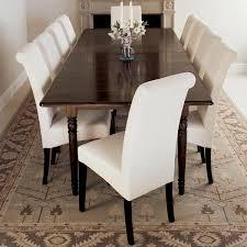 Echo High-Back Dining Chair, Dark Wood Legs