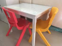 IKEA Kritter Children Table + 2 Chairs, Furniture, Tables & Chairs ... Disney Cars Hometown Heroes Erasable Activity Table Set With Markers Shop Costway Letter Kids Tablechairs Play Toddler Child Toy Folding And Chairs Fabulous Chair And 2 White Home George Delta Children Aqua Windsor 2chair 531300347 The Labe Wooden Orange Owl For Amazoncom Honey Joy Fniture Preschool Marceladickcom Nantucket Baby Toddlers Team 95 Bird Printed