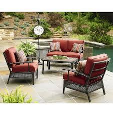 Boscovs Outdoor Furniture Cushions by Ty Pennington Sierra Conversation Replacement Cushion Set Garden Winds