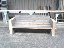 Luxury 50 How To Build A Wooden Bench With A Back Best Scheme