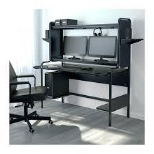 White Computer Desk With Hutch Ikea by White Corner Computer Desk U2013 Modelthreeenergy Com