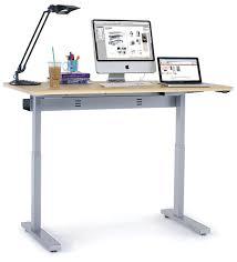 Ergotron Sit Stand Desk by Ergotron Mvbd60ss Anthro Elevate Standing Desk