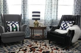 Vintage Modern Rustic Living Room Via RainonaTinRoof