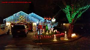 Christmas Tree Lane Fresno by Best Christmas Lights And Holiday Displays In Santa Rosa Sonoma
