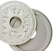 decorative light fixture plate wanker for