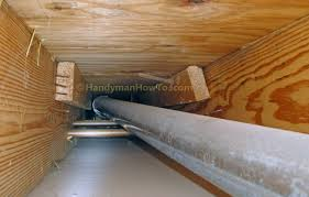 Ceiling Fan Joist Hangers by How To Replace A Bathroom Exhaust Fan And Ductwork Old Vent Duct