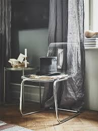 tobias stuhl transparent verchromt ikea deutschland