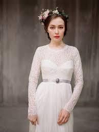 Rufina Long Sleeve Lace Wedding Dress