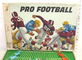 Image Is Loading PRO FOOTBALL BOARD GAME 1960s BOXED COMPLETE 1965