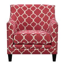 Element International Deena Red Accent Chair | Products ...
